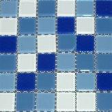 Mosaico Vidrio Azul