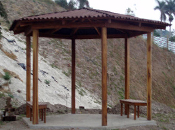 Kioskos y pérgolas de madera