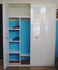 Closets con puertas plegadizas o corredizas