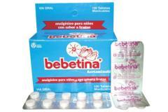 Bebetina® Tabletas masticables
