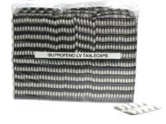Ibuprofeno LV 600 mg Tablecaps