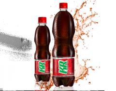 Refrescante bebida carbonatada KR