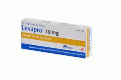 Inhibidor selectivo de la recaptación de serotonina (ISRS)  Lexapro