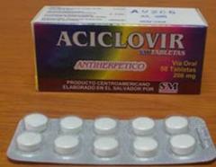 Antiherpetico Aciclovir