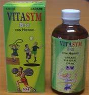 Vitamínico Vitasym B12 con Hierro