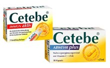 Time-release vitamin C supplement        Cetebe