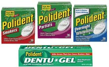 Denture care products   Polident / Corega