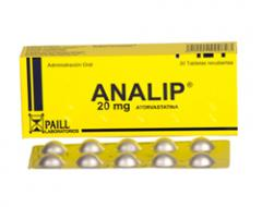 Analip 30 Tabletas Recubiertas