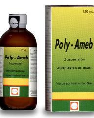 Medicamento para el tratamiento de la amebiasis