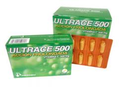 Complemento de Vitamina C de acción prolongada