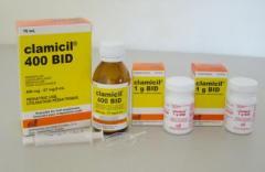 Antibiótico Clamicil BID 400