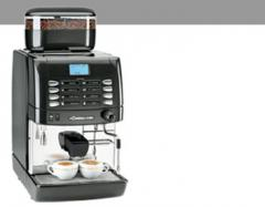 Compact superautomatic espresso and cappuccino