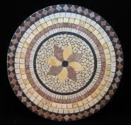 Mosaicos de Marmol, Travertino