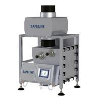 Detectores de metal por flujo de gravedad