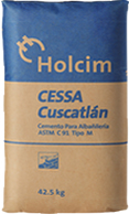 Cemento Holcim Cuscatlán Tipo M