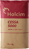 Cemento hidráulico Holcim Cessa 5000