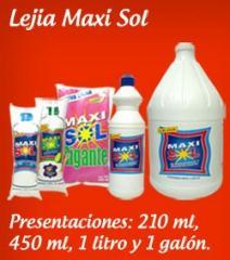 Blanqueador Lejía Maxisol