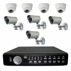 8 Channel Security System iVIEW