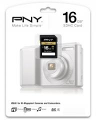 Memoria SD PNY 16GB Card SDHC