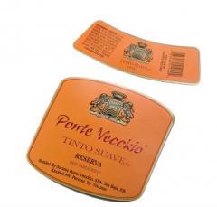 Etiquetas fabricadas en papeles y cartones