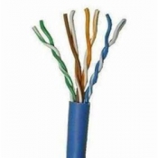 Cable UTP 4 pares Categoria 5e color azul