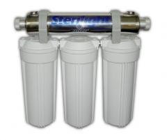 Equipos de purificación de agua residencial