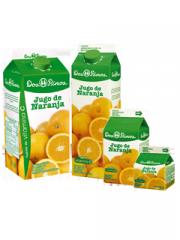 Jugo de naranja corta duracion