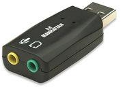 Adaptador de Audio 3-D USB de Alta Velocidad