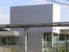 Panel para fachadas de aluminio Alcopla
