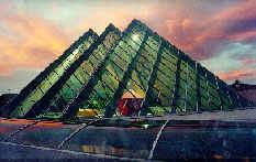 Sistemas de techumbres inclinadas, domos y skyligths de aluminio y cristal