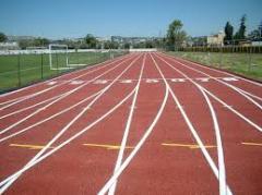 Pisos para pistas de atletismo de la línea Decoflex Athletic Track and Field