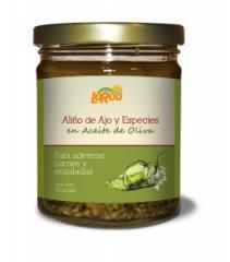 Aliño de ajo en Aceite de Oliva