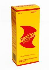 Higoral  V A,D3, B,C,E, MG,ZN, CO, CA,NA  Vitaminas y Minerales