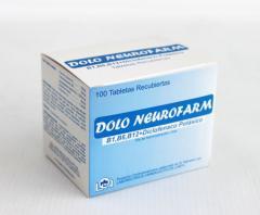 Doloneurofarm Diclofenac P.50mg, B1,B6,B12