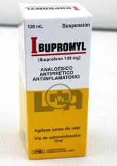 Ibupromyl Ibuprofeno Analgésico,