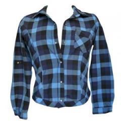 Camisa manga larga cuadriculada