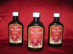 Tonico vitaminado   Vino tres toros