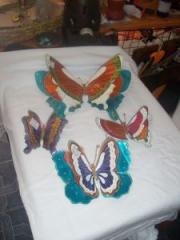 Mariposas de repujado
