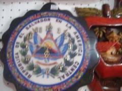 Reloj de pared escudo