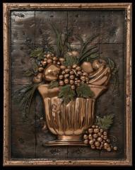 Murales Tridimensionales/Frutero con frutas