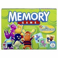 Memory Game - The Backyardigans Edition