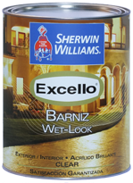 Excello Barniz Wet - Look