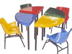 Muebles para parvularia/guardería (Desmontable 2)