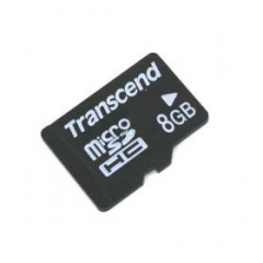 Psico-Modelo 5006, Micro SD 8 GB