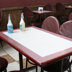 Sistema integral para la limpieza y sanitización en salones de restaurantes