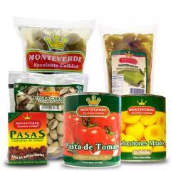 Productos marca Monteverde
