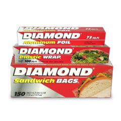 Papel Aluminio Diamond