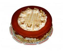 Torta Almendra con Caramelo