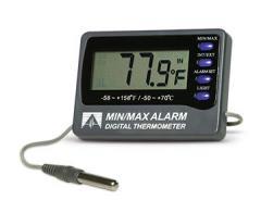Termómetros Digitales con Alarma Min/Max Deltatrak