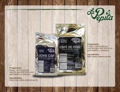 Soya Caf y cafe de maiz
